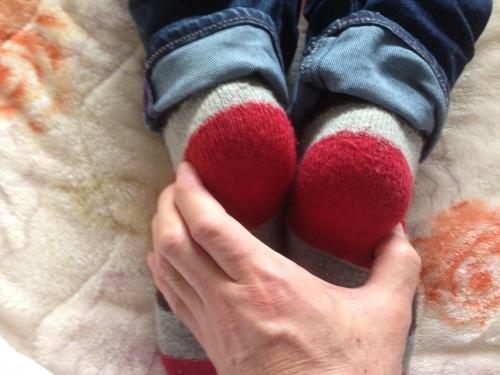 左足の短い状態