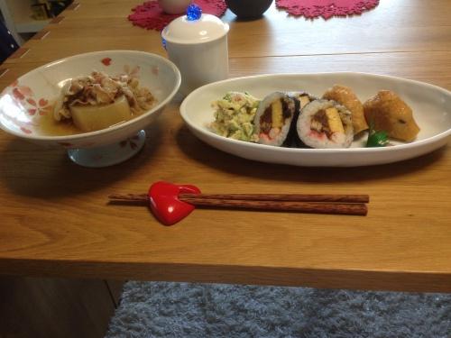 お寿司と煮物