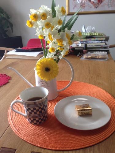 コーヒーとマロングラッセ