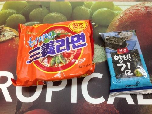 韓国旅行のお土産